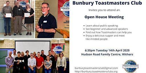 Bunbury Toastmasters Club Open House Meeting