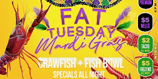 """FAT TUESDAY 