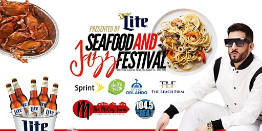 5th Annual Seafood & Jazz Festival Ft. Jon B