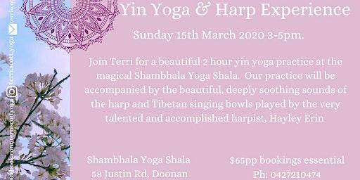 Yin Yoga & Harp Experience
