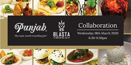 Punjab X Blasta Collab Dinner tickets