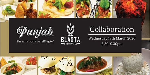 Punjab X Blasta Collab Dinner