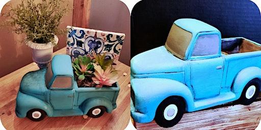 Bisque Vintage Truck  $35/$45