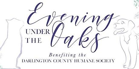 Evening Under the Oaks 2020 tickets