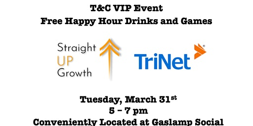 T&C eCommerce VIP Happy Hour Bar Tab and Games