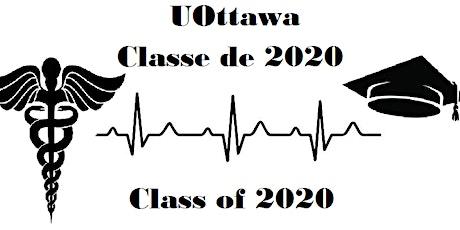 Cérémonie d'Épinglette Francophone Classe 2020/ Fench Pinning Ceremony 2020 billets