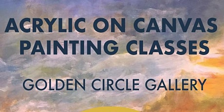 Acrylic on Canvas painting class tickets