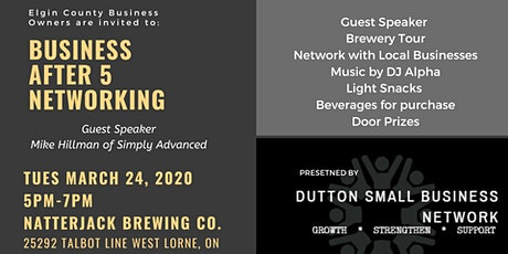 Business After 5 Networking tickets