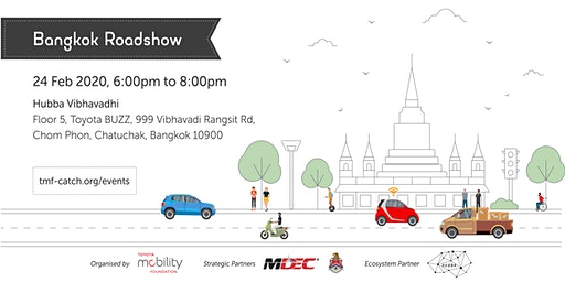 City Architecture for Tomorrow Roadshow (Bangkok)