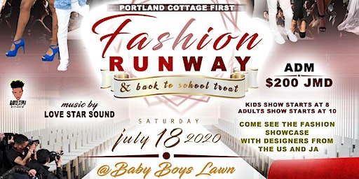 Community outreach and back to school fashion show fundraiser