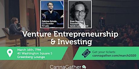 CannaGather: Venture Entrepreneurship & Investing tickets