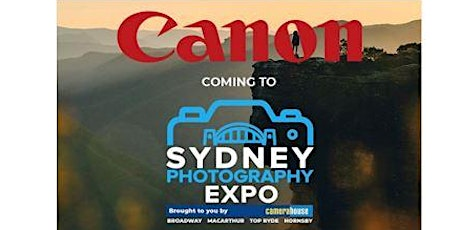 Free Canon Sensor Cleaning at the 2020 Sydney Photography Expo tickets