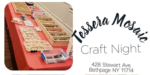Tessera Mosaic Craft Night