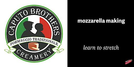 Mozzarella Making Learn to Stretch