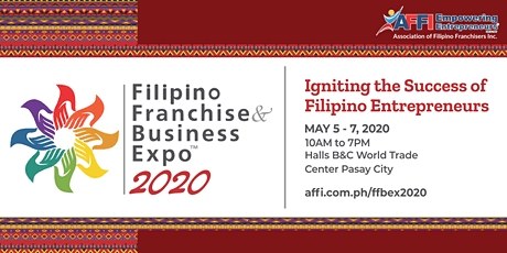 Filipino Franchise & Business Expo 2020 tickets
