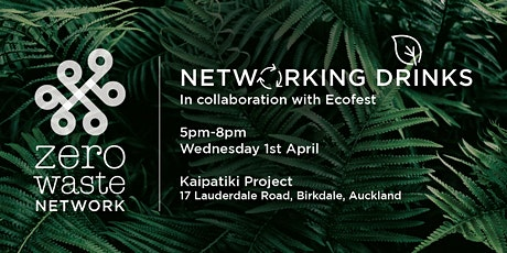 Zero Waste Networking Drinks tickets
