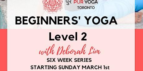 Beginners' Yoga Series Level 2 tickets