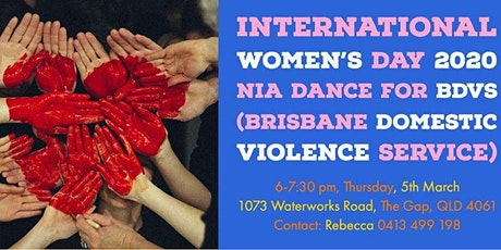 International Women's Day Nia Dance for BDVS tickets