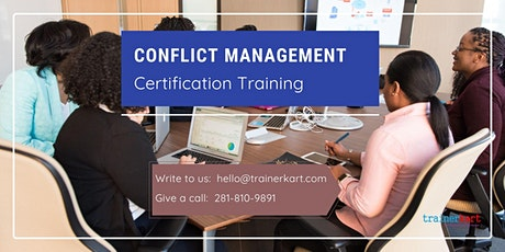 Conflict Management Certification Training in North Bay, ON tickets