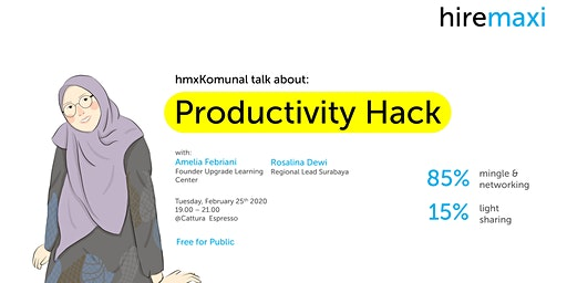 hmxKomunal: Productivity Hack
