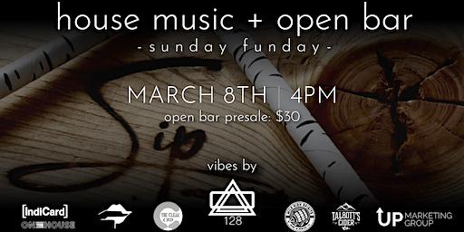 Open Bar + Sunday Funday