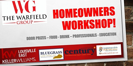 Free Homeowners Workshop tickets