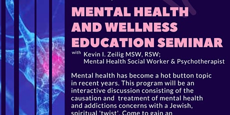 Mental Health and Wellness Seminar tickets