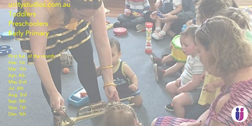 Busy Bee Saturday: Music & Movement for Little ones