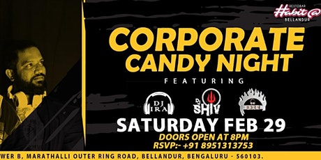 Corporate Candy Night tickets