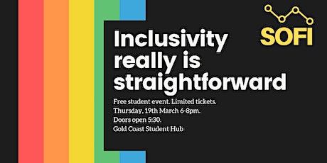 Inclusivity really is straightforward.  tickets