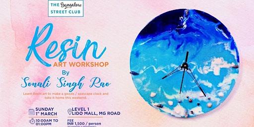 Resin Art Workshop with Sonali Rao