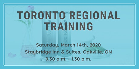 March Toronto Regional Training tickets