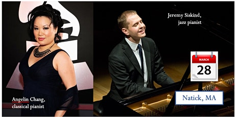 Jeremy Siskind + Angelin Chang at Falcetti Pianos tickets