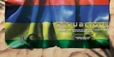 République Independence Party tickets