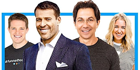RARE FREE Live Webinar Training by Tony Robbins, Dean Graziosi, Russell & Jenna Kutcher - Thursday February 27th 5PM PST | 8PM EST tickets