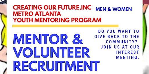 Mentor and Volunteer Recruitment