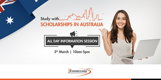 Study with scholarships in Australia- All day information session