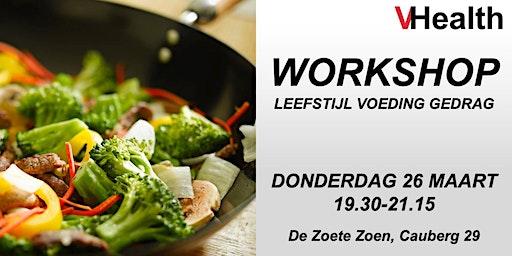 VHealth Workshop Leefstijl - Voeding - Gedrag