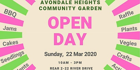 Open Day at Avondale Heights Community Garden tickets