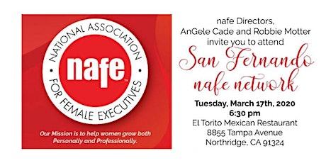 San Fernando Valley NAFE Network Dinner Meeting with LuAn Mitchell tickets