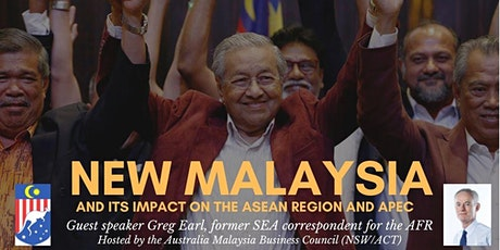 New Malaysia and its Impact on the ASEAN Region and APEC tickets