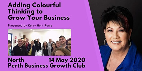 Adding Colourful Thinking to Grow Your Business tickets