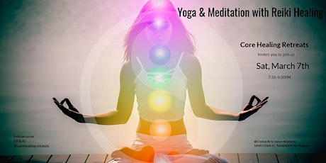 Yoga and Meditation with Reiki Healing tickets