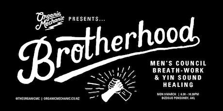 Brotherhood - Council, Breathwork & Yin Sound Healing tickets