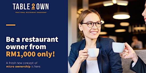 新生意模式:分化式餐厅业权计划(PG)