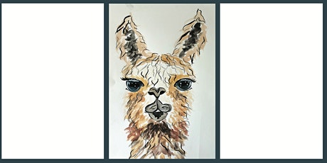 Luminous Llamas: A watercolour class for beginners tickets
