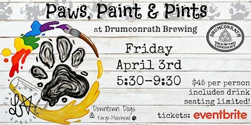 Paws, Paint & Pints 04/03