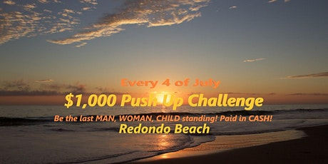 $1,000 Push Up Challenge 2020 (in CASH) tickets