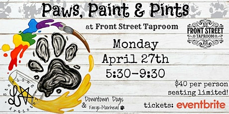 Paws, Paint & Pints 04/27 tickets