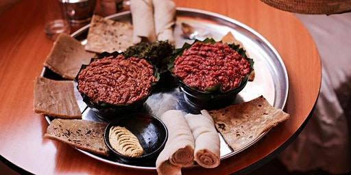 Ethiopian/South African dinner